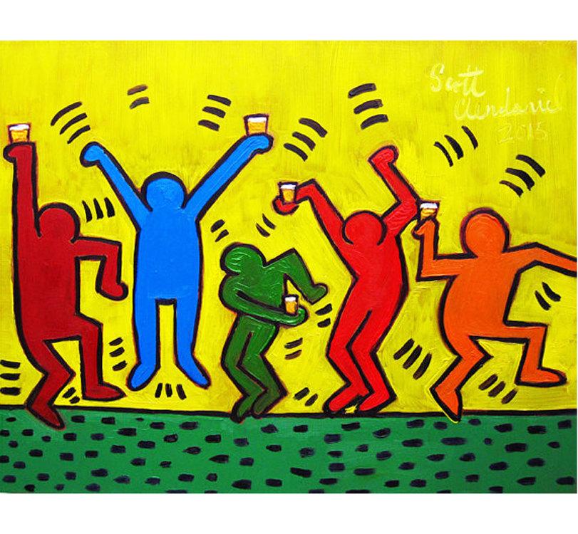 Projekt Keith Haring - 2.FÖ