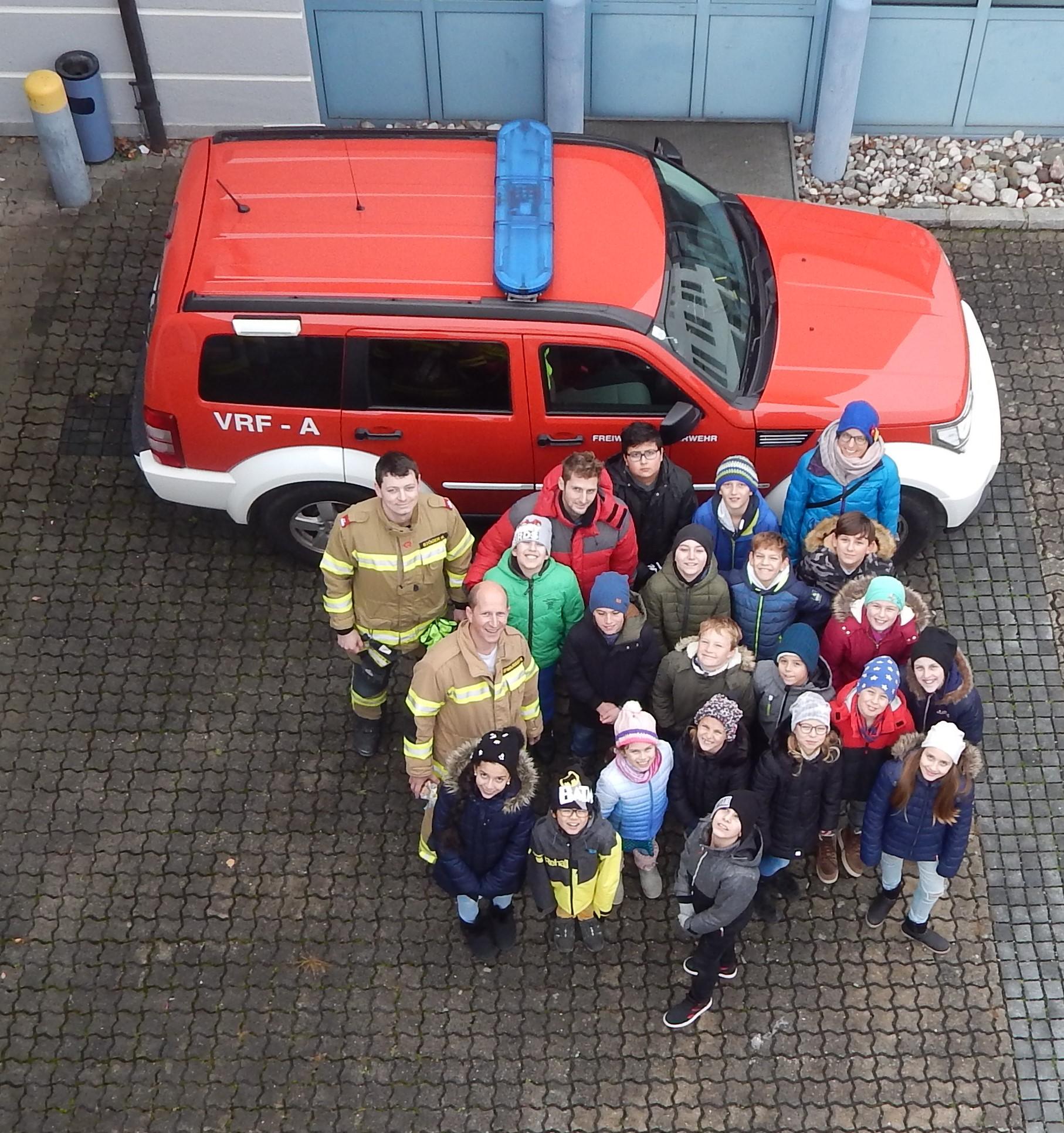 Besuch bei der Freiwilligen Feuerwehr Perg (4ai)