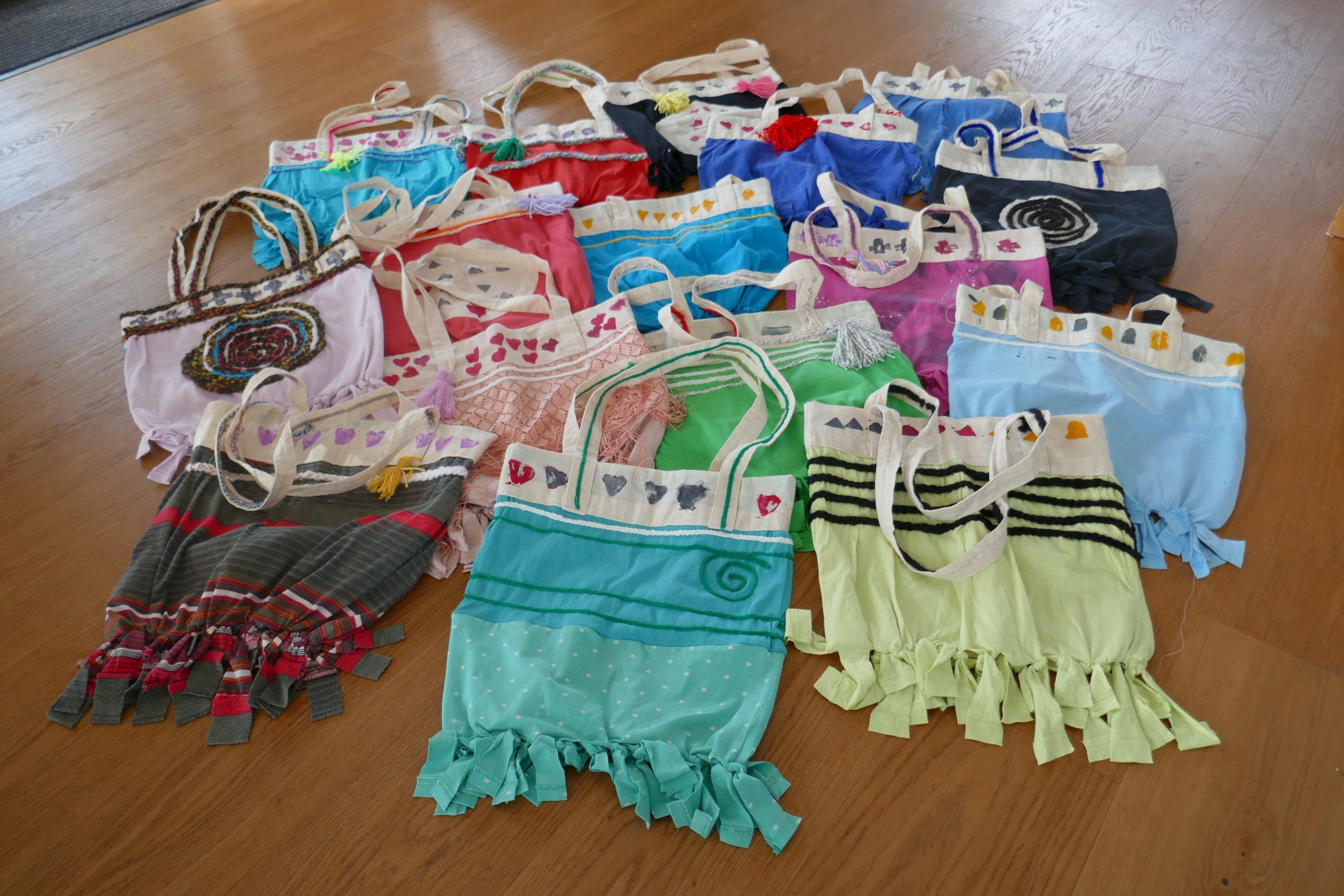 Upcycling – Alte Shirts wurden zu neuen Taschen